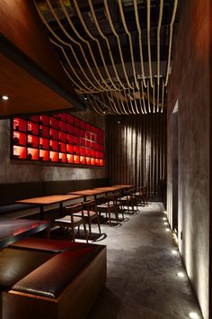 Kemuri restaurant, Shanghai by Prism Design