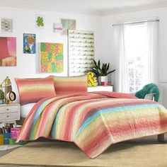 Electric Beach Quilt Set Twin ...