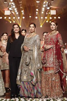 Nickie Nina showcased at the Bridal Couture Week on Day 3 with a new Couture Collection, in Karachi.