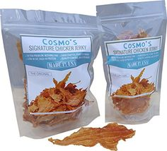 COSMOS SIGNATURE CHICKEN JERKY  THE ORIGINAL 1 USA MADE CHICKEN JERKY FOR DOGS AND CATS 8 oz >>> Click image for more details. (This is an affiliate link)