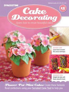 Order now: www.mycakedecorating.com.au to receive this gift FREE! #cakedecorating #toolkit #cake #baking #minicake #flowerpotcake