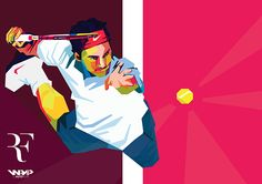 Roger Federer in WPAP on Behance