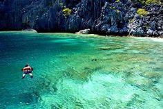 Matinloc Secret Beach - El Nido, Palawan, Philippines