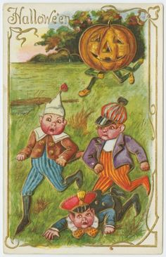 Happy Hallowe'en, from the NYPL Picture Collection