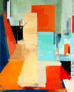 "Peri Schwartz ""Studio XXX,"" oil on canvas, 2013"