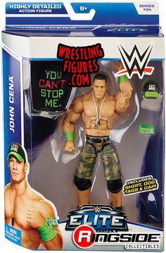 John Cena - WWE Elite 34 | Ringside Collectibles