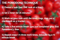The Pomodoro Technique – an incredible simple time management system–changed my workday and ultimately, my life. 4 Hour Work Week, Work Task, 40 Hours, Improve Productivity, Life Learning, Work Life Balance, Best Self, Time Management, Work On Yourself