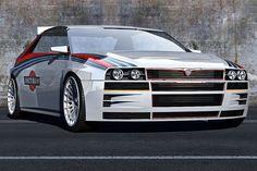 Geht es nach Lancia-Fan Alain Brand, kommt der Delta HF Integrale genau so zurück: ordentlich Schmackes unterm Blech und ein Design, das an die berühmten Kanten Giorgetto Giugiaros erinnert.
