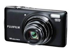 Die Digitalkamera verfügt über einen 10-fachen optischen Fujinon-Zoom und eine Brennweite von 28-280 mm. Dank der Weitwinkeloptik können Sie auch aus wenig Abstand ausgezeichnete Gruppenfotos realisieren.