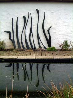 diy concrete garden sculpture - Google Search