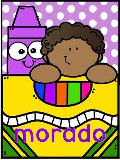 #interactivo para la clase New Classroom, Classroom Themes, Classroom Organization, Preschool Colors, School Labels, Cute Frames, Color Crayons, Teacher Supplies, Class Decoration