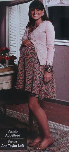 Look 2  Vestido: Appeltree  Sweater: Ann Taylor Loft
