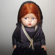 "Vintage Effanbee Grumpy Face Rare ""Amish Girl"" In Original Outfit 12"" Circa 1939 from Stuck On Dolls - stuckondolls@gmail.com for $265.00"