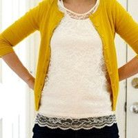 Chic Lacy Top