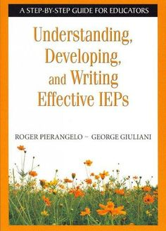 Written by legal and education experts and aligned with the reauthorization of IDEA 2004, this practical resource provides a step-by-step plan for creating, writing, and evaluating IEPs.