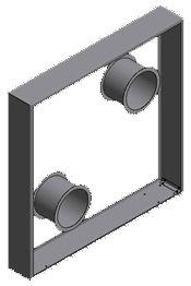 Sichtschutzwand mit Kaminholz aus Cortenstahl2