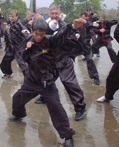 Nothing stops Choy Lee Fut! This reminds me of my Bootcamp days