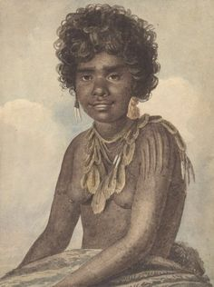 C 327. A woman of NSW by Augustus Earle 1793-1838 Courtesy of National Library of Australia. nla.pic_.an2818359-v_0.jpg 419×562 pixels