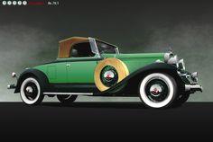 Studebaker President Series 80 Four Seasons Roadster, 1931
