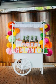 The brightest tutti frutti kids birthday party - 10 Colourful and Fun Party Ideas | Tinyme Blog