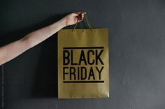 Bruce & Rebecca Meissner for Stocksy United Shopping Mall, Paper Shopping Bag, Beauty Shots, Photo Black, Black Friday, Reusable Tote Bags, The Unit, Christmas, Yule