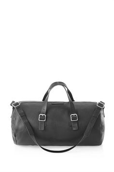 Simple Leather Duffle  $528.00
