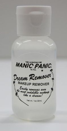 <><><> Whitelisted!  100% CRUELTY FREE! <><><>. Manic Panic - Dream Remover™ (makeup remover) #DRE20000