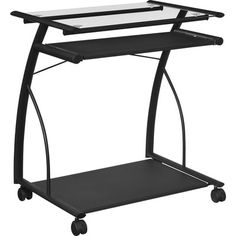 Altra Furniture Mobile Computer Cart/Desk