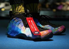 brand new 0a1d6 2cfb8 Bright Colors Shine On The Nike Air Foamposite One Alternate Galaxy (Big  Bang)