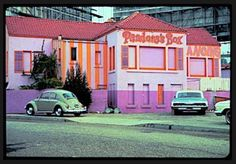 Pandora's Box on the Sunset Strip - the 1960's rock 'n roll hangout. I spent a lot of time here in the middle of the night. I was judged to be a bad influence when my friend was busted for curfew... I slipped away unscathed.