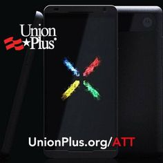 Did you know that the new Moto X from Motorola is assembled right here in the United States and available exclusively at AT? Union members who upgrade today can save 15% on your wireless bill with Union Plus AT discount at www.UnionPlus.org/ATT