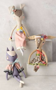 Fashionable Fauna Doll | Pinned by topista.com