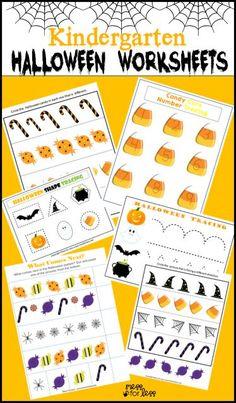 Halloween Worksheets for Kids. 20 Halloween Worksheets for Kids. Halloween Worksheets, Halloween Activities, Kindergarten Worksheets, Worksheets For Kids, Halloween Themes, Halloween Crafts, Halloween Printable, Preschool Halloween, Seasons Worksheets