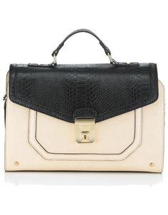 Rosie Front Lock Handheld Bag | Multi | Accessorize