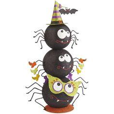 Halloween decor Spider tower