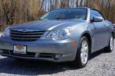 2008 Chrysler Sebring, 85,093 miles, $9,995.