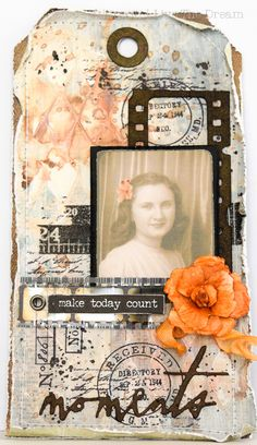 Jennie Atkinson: Sizzix Tattered Florals punch