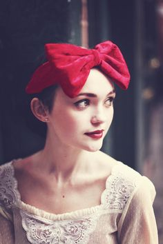 Red Velvet Bow Headband Red Bow Headband Velvet by beauxoxo. Lots more fabulous gifts at the Dorset Team Christmas Fair Saturday 3rd December 10am - 4pm Wimborne Allendale Centre, BH21 1AS Free Entry
