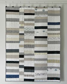 Happy Monday, friends.           I must tell you, I'm super, super excited about this new quilt. I love its simplicity and muted color...