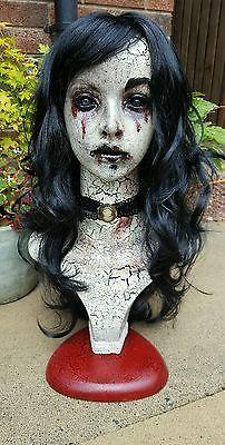 Ooak horror art mannequin creepy doll halloween goth