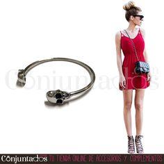 Una pulsera muy rockera para tus outfits de conciertos ★ 6,95 € en…
