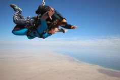 Skydiving Namibia Africa. Best Adventures from Cape Town to Nairobi. Click to read about all of the Adventure From Divergent Travelers Adventure Travel Blog.