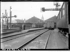 25/2/20, gare de Lyon, grève des cheminots (agence Rol, 1920).