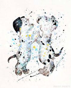 101 Dalmatians Disney Watercolor Wall Art Poster - Prices from € - Click Pho . 101 Dalmatians Disney Watercolor Wall Art Poster – Prices from € – Click Pho … Disney Kunst, Arte Disney, Watercolor Disney, Watercolor Walls, Tattoo Watercolor, Disneyland, Disney Paintings, Images Disney, Kunst Poster