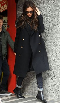 Victoria Beckham Style -Chelsea Boot How To Wear #womenswear #celebrity #jeans…