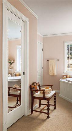 Interior Doors Mirror.pocket door. Fancy!!