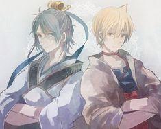 Magi: The Labyrinth of Magic// Ren Hakuryuu and Alibaba
