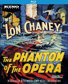 The Phantom of the Opera - Blu-Ray (Kino Lorber Region A) Release Date: October 13, 2015 (Amazon U.S.)