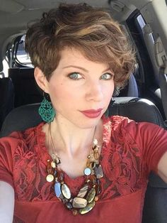 Pixie Cuts for Curly Hairs-8