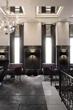 Balthazar Champagne Bar - Hotel D'Angleterre, Copenhagen, Denmark By Space Copenhagen | urdesign magazine